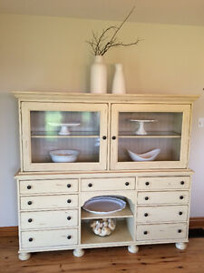 Dining room Hutch and Storage Display Cabinet