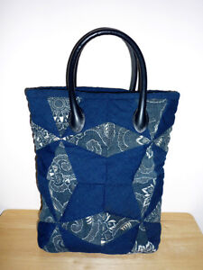 Blue Cloth Padded Tote ... NEW .. Cambridge Kitchener Area image 2