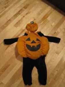 Excellent Costume: Pumpkin Citrouille (2T–3T) Gatineau Ottawa / Gatineau Area image 1