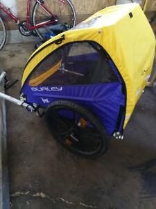 Chariot double pour vélo