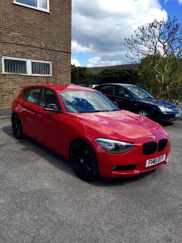 bmw 118d f20 1 series red m sport alloys not audi merc golf in maidenhead berkshire gumtree. Black Bedroom Furniture Sets. Home Design Ideas