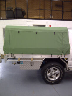 Canvas Ute Canopy Cover made for your requirements Perth Wangara Wangara Wanneroo Area Preview