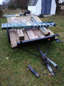 Trailer and new ramps need sold asap