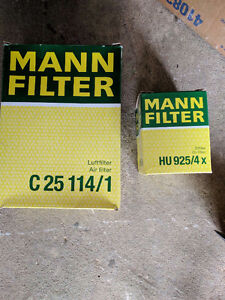 Oil and Air filter 2003 BMW 330xi