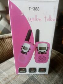 New Walkie-talkies