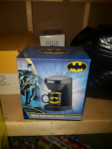 BATMAN COFFEE MACHINE