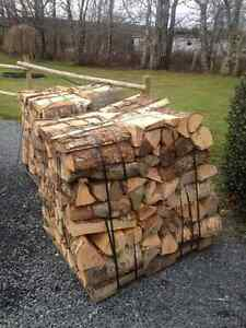 Dry Hardwood Firewood $89 delivered www.NovaScotiaWood.ca