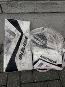 Goalie Blocker & Glove