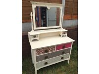 Shabby chic Vintage Dressing Table - Can Deliver