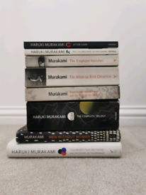 Haruki Murakami collection of books