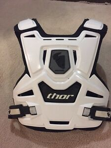 Dirt bike chest guard