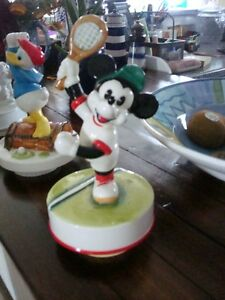 mickey mouse music box playing tennis SCHMID