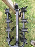 Bike rack for hitch