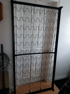 Steel bed frame and spring for a twin headboard and footboard