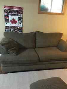 2 couches, large chair and ottoman Belleville Belleville Area image 3