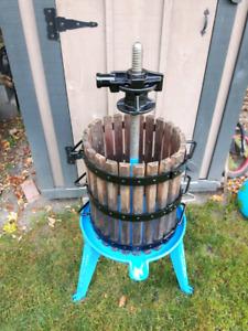 Large Wine or Hard Apple Cider Press
