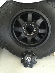 Fuel rims and 33 inch tires