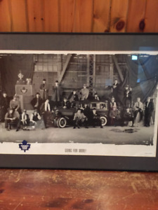 """Toronto Maple Leafs """"Going for More"""" Framed Print"""