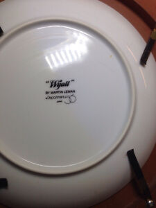 Department 56 Wyatt collectible plate by Martin Leman Cambridge Kitchener Area image 2