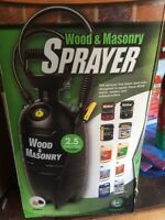 Flomaster Wood & Masonry Sprayer