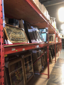 Store/warehouse shelving and racks for sale/business closing