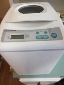 Black and Decker large 2 lb bread machine