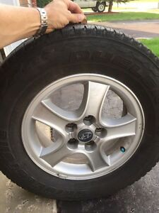 225/70 R16 All Season Tires on Alloys  London Ontario image 1