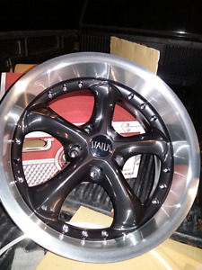 "NEW 17"" 5X114.3 5X120 STATUS ALLOY RIMS"