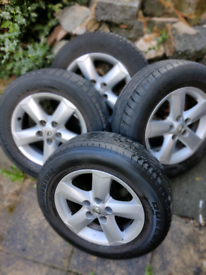 """Nissan qashqai 16"""" Tyres and alloys for sale"""