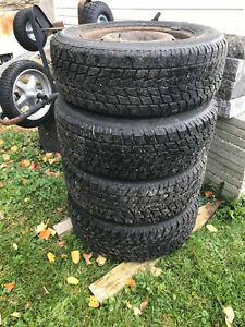 Winter Tires with Rims Cornwall Ontario image 1