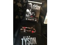 Mike Tyson boxed set - 4 DVDs & magazine collection