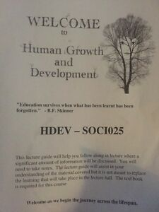 Welcome to human growth and development  Peterborough Peterborough Area image 1