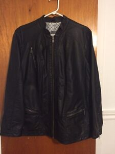 Veste style moto / motorcycle style coat West Island Greater Montréal image 1