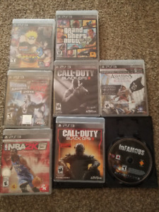 Selling 6 PS3 Games $20 each!