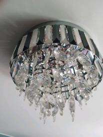 Glass ceiling lamp , free crystal cabinet handles