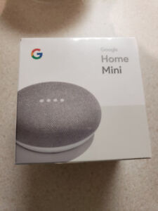 google home mini - brand new and unopened in box.