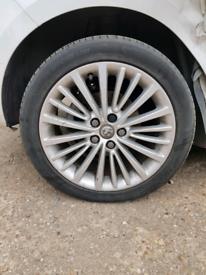 set of 4 Alloys wheel rim Vauxhall Astra mk7 K 2018 225/45/17