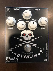 EMMA Electronic PisdiYAUwot Distortion Pedal