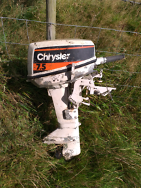 Chrystler 7.5 outboard boat motor