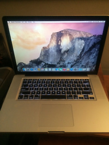 15.4 inch MacBook Pro for Sale!