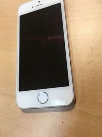 Iphone 5s silver on EE -16gb