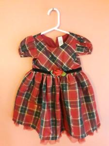 Christmas Dress (plaid)
