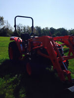 Kioti NX6010 Tractor With Loader