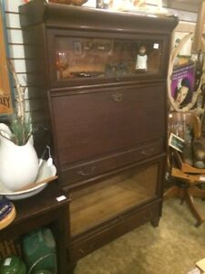 Antique barrister bookcase secretary  London Ontario image 1