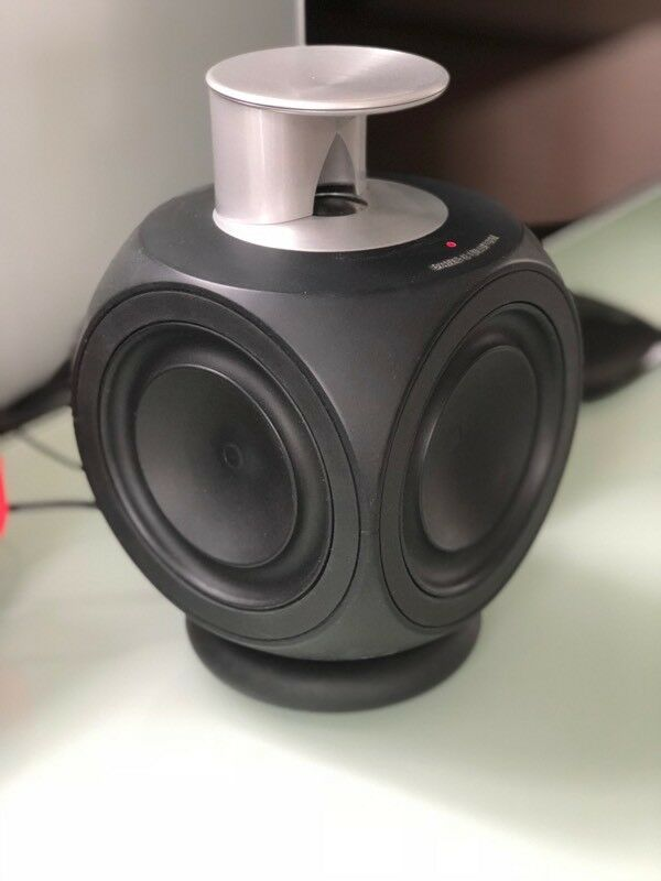Bang and Olufsen Beolab 3 speakers with stands