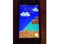 IPHONE 6 , SILVER , ON O2 ( GIFF GAFF / TESCO ) , 16gb - NO OFFERS