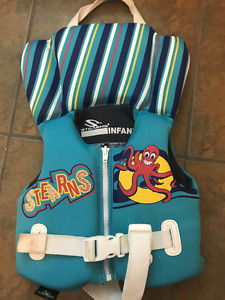 infant life jackets- like new