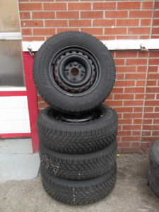 set of good year snow 225/65/16 snow fit 2008 to 2013 dodge cara