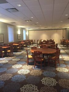 Restaurant/Hall tables and chairs in excellent condition