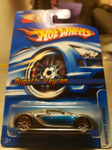 Hot wheels Bugatti Veyron grey/blue